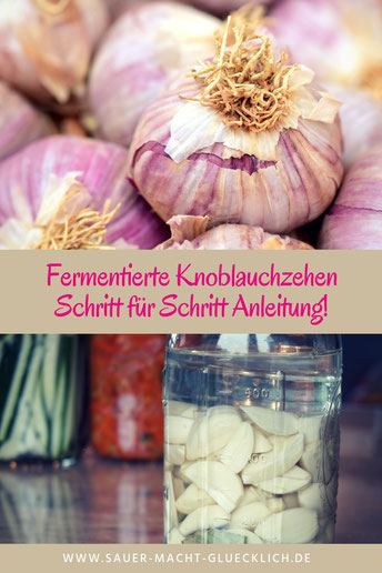 fermentierter Knoblauch
