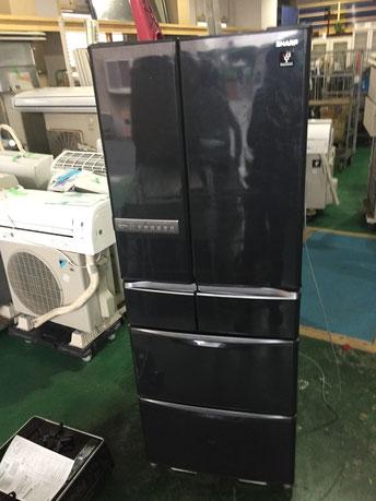 SHARP6ドア冷蔵庫