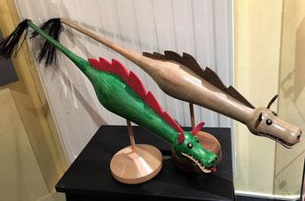 Dragon bois Mons doudou
