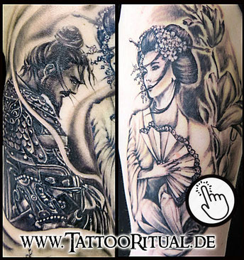 Tattoo Rostock Asiatisch