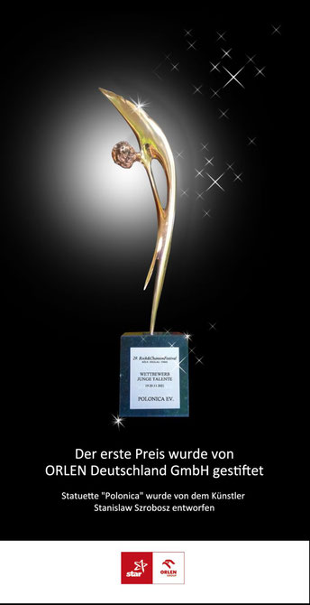 "Polonica Statuette - 1. Preis des Wettbewerbes ""Junge Talente"""