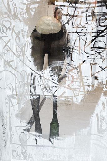 Diego Bianchi, Vitrine, 7 rue de la République, Marseille © jean christophe lett