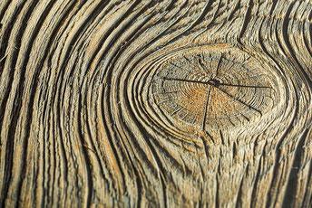 Holz mit seiner Haptik