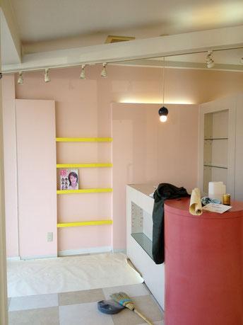 美容室内装工事