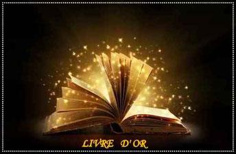 Livre posé et ouvert en accordéon avec plein de petites étoiles qui sortent des pages