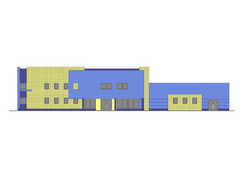Hurtownia EUROSTANDARD, Topole k/Chojnic  (opracowano dla Pracowni Projektowej inż. Jana Belzerowskiego)