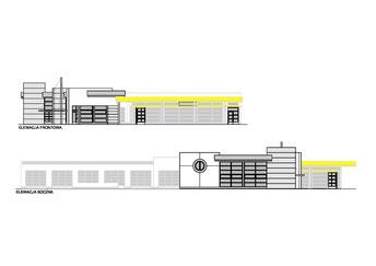 Rozbudowa salonu samochodowego OPEL w Sieroczynie  (opracowano dla Pracowni Projektowej inż. Jana Belzerowskiego)