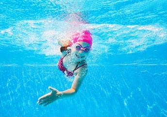 4 Schwimmarten (Brust/Rücken/Kraul/Delfin) für Fortgeschrittene