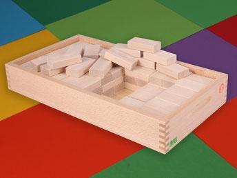 Holzspielzeug Beck dreischichtiger Aufsatzkasten für den Bauwagen