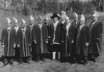 Der erste gewählte Elferrat der NZO 1953/54