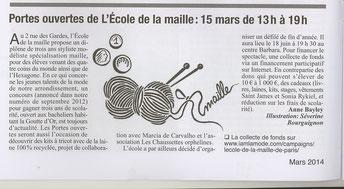 Journal du 18éme arrondissement - Mars 2014