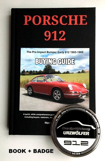 Porsche 912 Buying Guide - Book + Grill-Badge SET