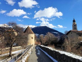 Mals in Südtirol (1060m)