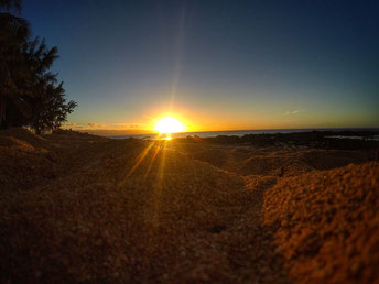 Sonnenuntergang GoPro