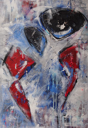 """Dance I"" - 70x100x4,5 cm"