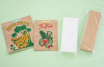紙製品(果物袋、ワシロン)
