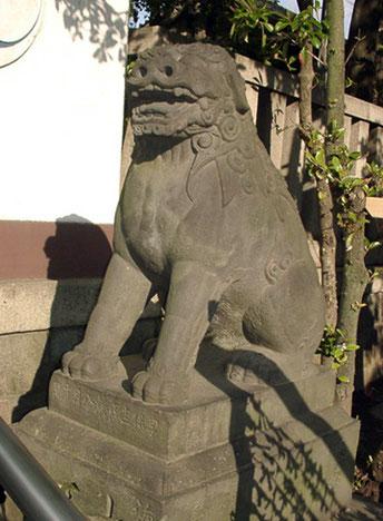 富岡八幡宮 狛犬