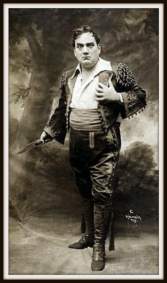 Georges Bizet CARMEN (Don José)  - Metropolitan N.Y. 19.11.1914