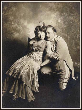 Georges Bizet CARMEN (Don José) con Geraldine Farrar - Carmen - Metropolitan N.Y. 19.11.1914