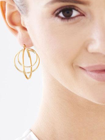 Elixa, bijoux, boucle d'oreilles