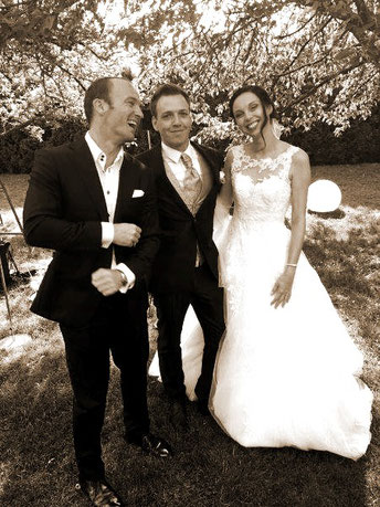 Wedding singer Christian Bruns is expert for exclusive events