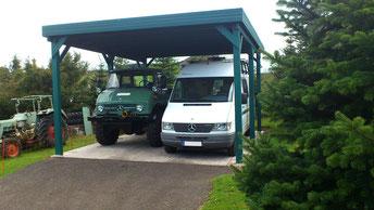 Carport für Wohnmobil - HD Carports Doppelcarport