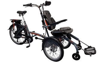 Van Raam Spezial-Dreirad O-Pair Rollstuhlrad 2 finanzieren mit 0% Zinsen bei den Dreirad Experten Dreirad-Zentrum Merzig - Dreiräder und Elektro-Dreiräder für Erwachsene