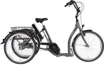 Pfau-Tec Shopping-Dreirad Torino finanzieren mit 0% Zinsen bei den Dreirad Experten Dreirad-Zentrum Merzig - Dreiräder und Elektro-Dreiräder für Erwachsene