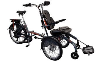 Van Raam Spezial-Dreirad O-Pair Rollstuhlrad 2 finanzieren mit 0% Zinsen bei den Dreirad Experten Dreirad-Zentrum Münchberg - Dreiräder und Elektro-Dreiräder für Erwachsene