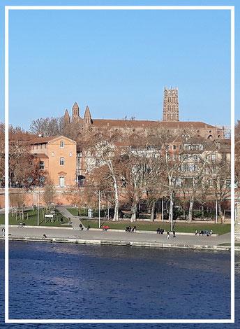 Garonne, La Daurade, Toulouse