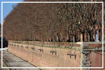 Garonne, Toulouse, Frankreich