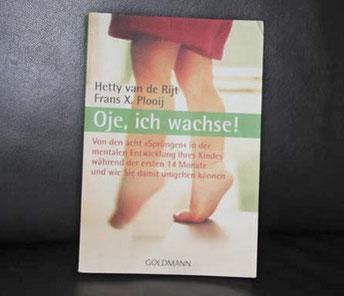 """Die Sprengels: Beispielbild zum Buch """"Oje, ich wachse!"""" von Hetty van de Rijt & Franz X. Plooij"""
