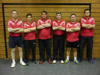 Edward Tomala,   Alexander Tefov,   Jörg Bank,   Dirk Hermann,   Besim Emruli,   Eckart Meumann (von Links)