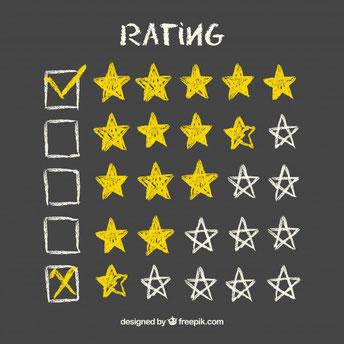 Bewertung - Sterne