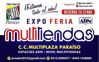 Expo Feria Multitiendas - Producciones ADN