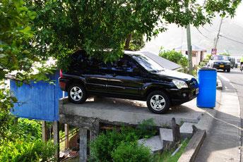 Hier ist beim Einparken wirklich Präzision erforderlich