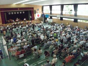 第32回敬老素人演芸会 H25.9.8(日)墨江小学校にて