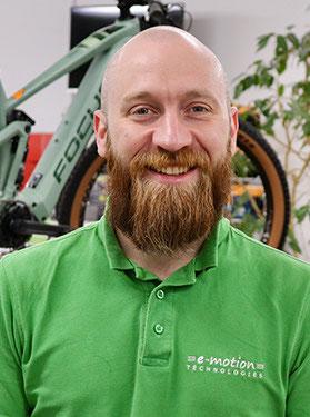 Lasten e-Bike Experte Robert Berthold