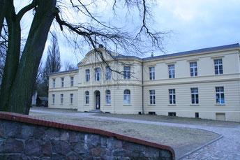Gerswalde, aus dem Haus stammt Achim von Arnims Vater und Friedmunds Opa.