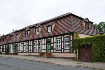 Im uckermärkischen Bitzenburg baute Paul Korff Beamtenhäuschen für den Grafen von Arnim.