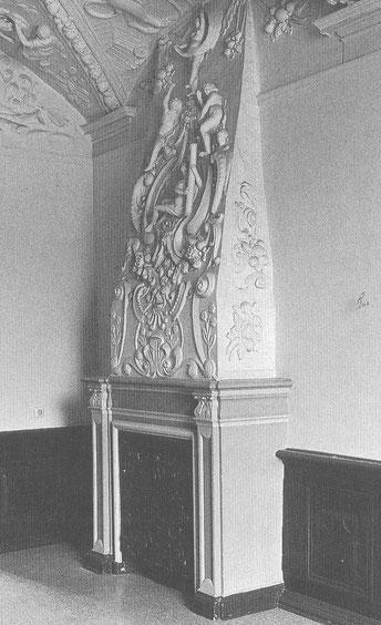 Im Jagdzimmer von Boitztenburg, das zu Zeiten von Hans Georg von Arnim entstand.