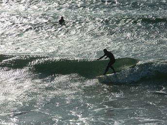 朝より波がアップしてました。