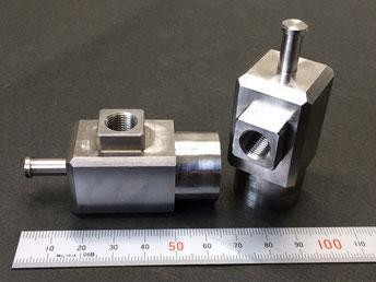 圧力ゲージ圧力測定ジグ