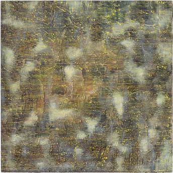 O.T., 50 x 50 cm, Tempera auf Holz, 2016