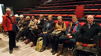 December 2016: bezichtiging van de nieuwe repetitieruimte in Nieuw Geesterhage, vanaf januari 2017