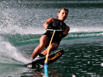 Wasserski-Sport bei Wassersport Engel am Wolfgangsee