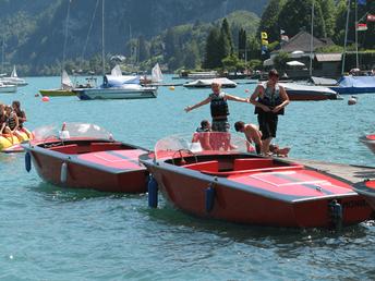 E-Boot fahren Wolfgangsee