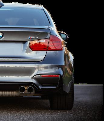 BMW M3 Heck