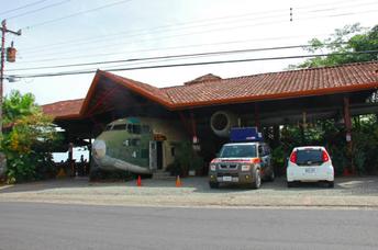 Das El Avión in Manuel Antonio