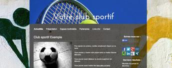 Jimdo exemple site avec image header et image de fond